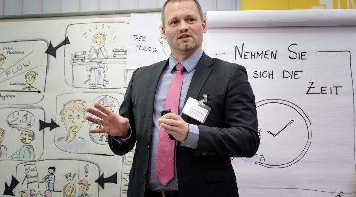Steve Neumann, Deutsche Rentenversicherung Berlin-Brandenburg