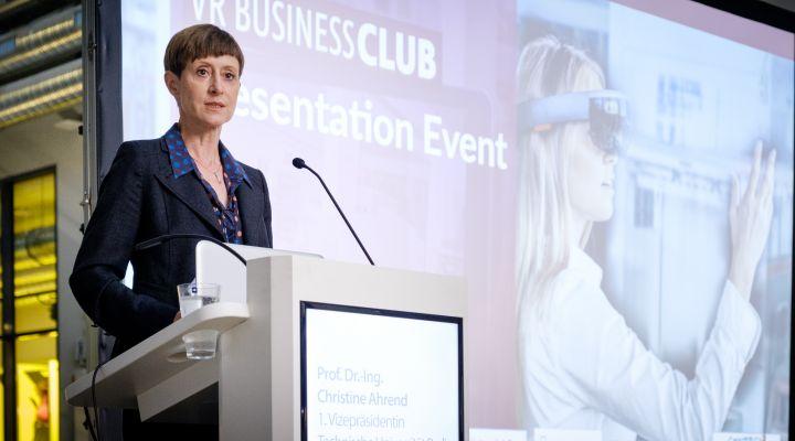 Prof. Dr.-Ing. Christine Ahrend, 1. Vizepräsidentin, Technische Universität Berlin