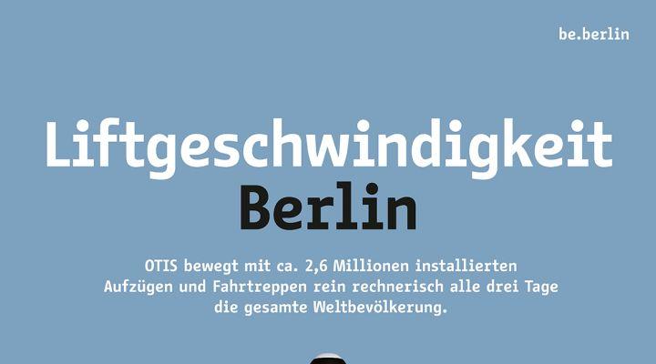 Industriekampagne #berlinproduziert Otis