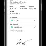 Baulogistik; Digitalisierung; Baustelle; App;