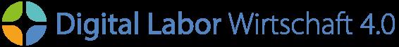 """Logo Digital Labor """"Wirtschaft 4.0"""""""