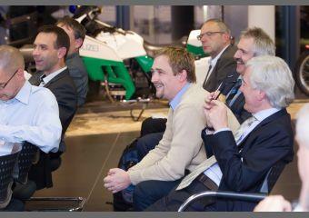 Das Publikum zeigte sich bei der Vorstellung des Digital Labors sehr interessiert.