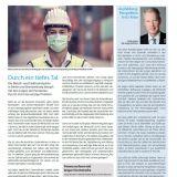 Titelseite M+E-Report, 02/2020