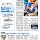 M+E-Zeitung Sonderausgabe