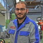 M+E-Starter, Ausbildung eines Geflüchteten bei Mercedes-Benz in Ludwigsfelde