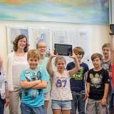 Schülerinnen und Schüler des Werner-von-Siemens-Gymnasiums