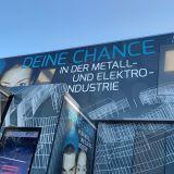 Infotruck der Metall- und Elektroindustrie