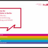 Angebotsbroschüre für Geflüchtete in Berlin