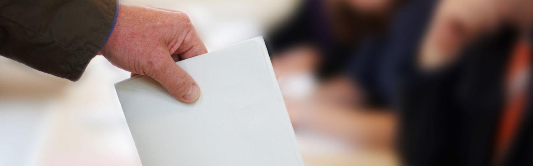 Stimmabgabe, Wahlen