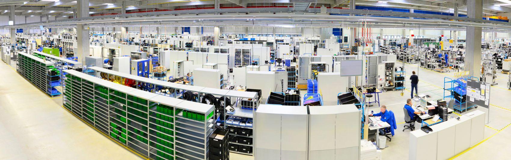 Industrie-Produktionshalle
