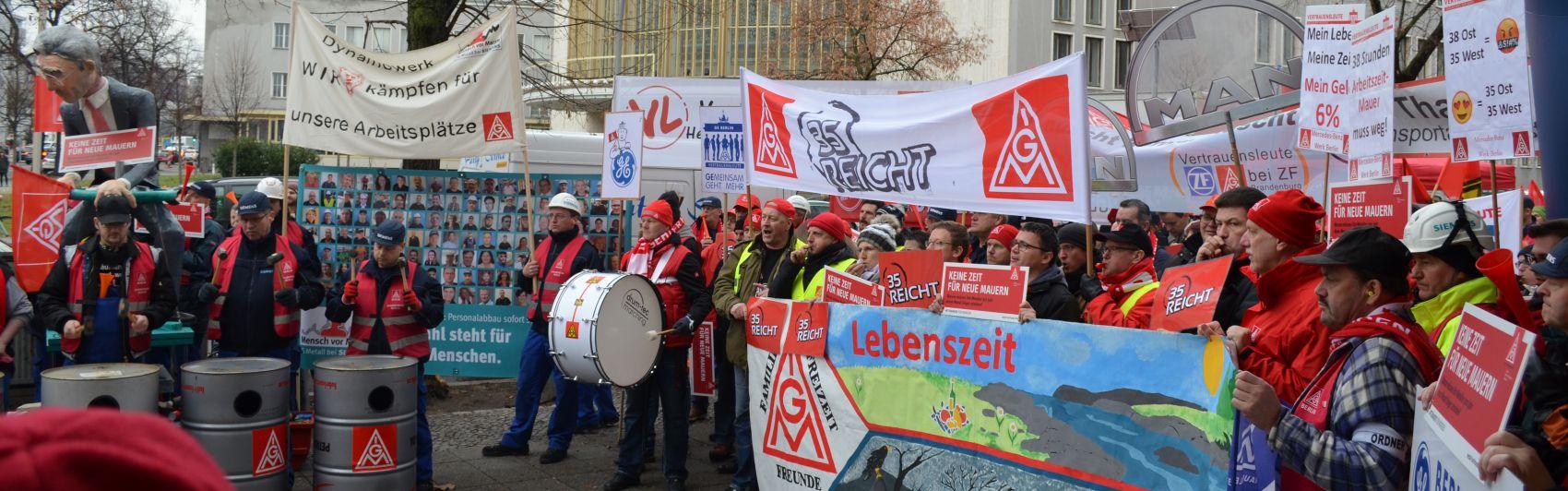 Tarifverhandlungen Metall- und Elektroindustrie Berlin-Brandenburg