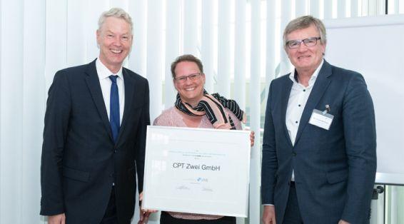 VME-Mitgliederversammlung 2019: Auszeichnung der CPT Zwei GmbH