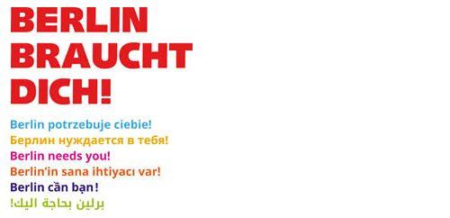 Logo Berlin braucht Dich!